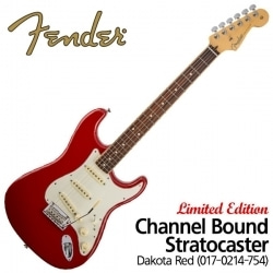 Standard Stratocaster Limited Edition Channel Bound Dakota Red