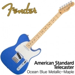 Standard Telecaster Ocean Blue Metallic-Maple