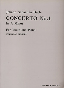 Bach Concerto No.1 in A Manor